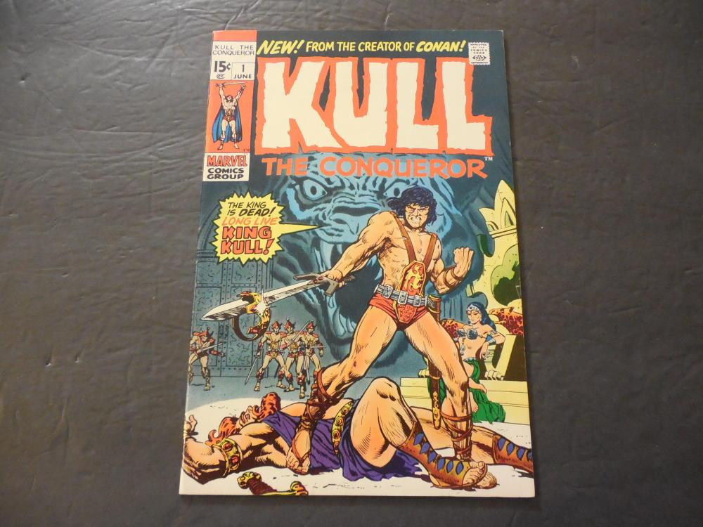 Kull The Conqueror #1 Jun 1971 Bronze Age Marvel Comics Uncirculated