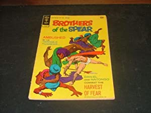 Brothers of the Spear #1 Jun '72 Gold Key Bronze Age
