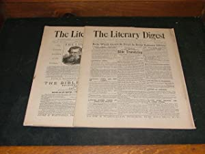 2 Iss Literary Digest Mar 7,28 1891 New Japan,Chinese