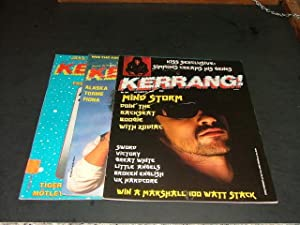 3 Iss Kerrang #93,146,160 Gene Simmons, Ace