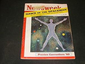 Newsweek July 11 1960 Dawn Of The