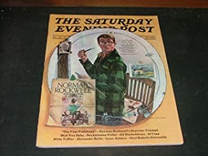Saturday Evening Post March/April '73 Norman Rockwell