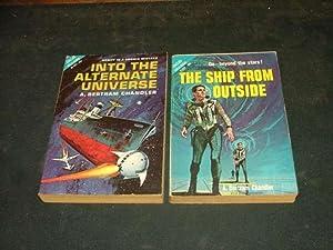 4 SF Novels Chandler Beyond Galactic Rim,: Chandler
