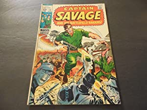Captain Savage #12 March 1969 Silver Age Marvel Comics