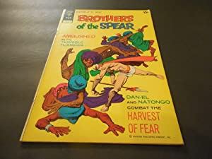 Brothers Of The Spear #1 June 1972 Bronze Age Gold Key Comics