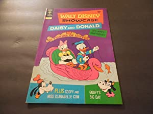 Walt Disney Showcase #8 June 1972 Bronze Age Gold Key Comics