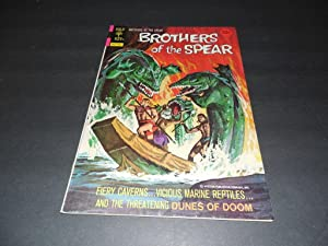 Brothers of the Spear #8 March 197 Gold Key Bronze Age