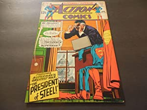 Action Comics #371 January 1969 Silver Age DC Comics Superman