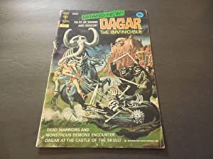 Dagar The Invincible #1 October 1972 Bronze Age Gold Key Comics