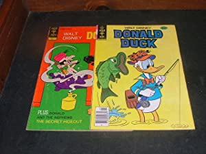 2 Bronze Age Gold Key Donald Duck Comics #143, #213