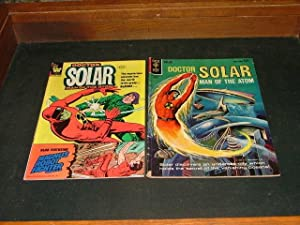 2 Issues Dr. Solar Man of the Atom Gold Key #64, Whitman 1981