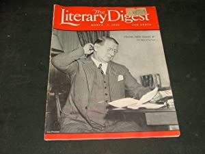 Vintage The Literary Digest March 7 1936 Colonel Knox