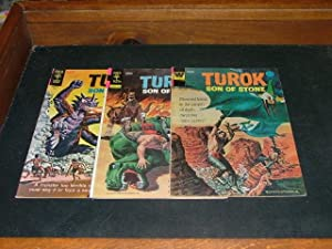 3 Issues Turok #s 46, 90-91 Gold Key Silver/Bronze Age