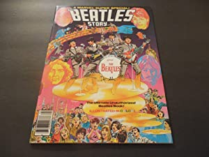 Marvel Comics Super Special #4 1978 Bronze Age Color Mag Beatles Story