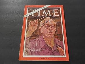 Time Feb 22 1963 George Szell; Burma;