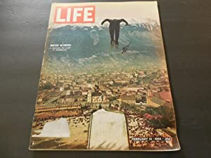 Life Feb 14 1964 Winter Olympics; JFK