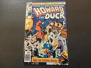 Howard The Duck #4 Jul 1976 Bronze