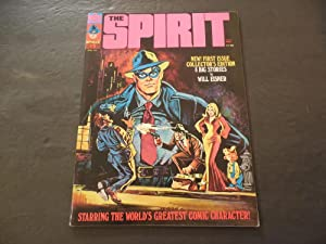 The Spirit #1 Apr 1974 Bronze Age Warren Magazine