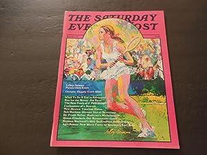Sat Evening Post May/Jun 1976 Chris Evert