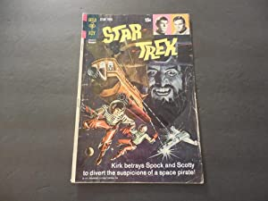 Star Trek #12 Nov 1971 Bronze Age Gold Key Comics Photo Cover
