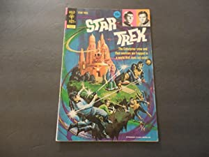 Star Trek #15 Aug 1972 Bronze Age Gold Key Comics Photo Cover