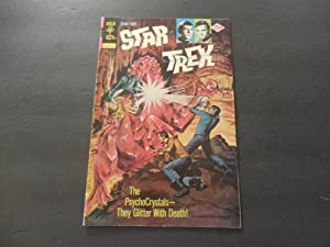 Star Trek #34 Oct 1975 Bronze Age Gold Key Comics Photo Cover