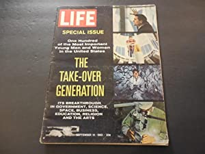 Life Sep 14 1962 Breakthroughs In Government,