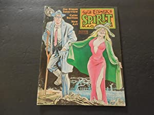 The Spirit #37 Oct 1982 Bronze Age Kitchen Sink Mag Will Eisner