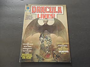 Dracula Lives! #1 1973 Bronze Age BW Marvel Magazine Salem Witchcraft