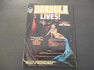 Dracula Lives! #2 1973 Bronze Age BW Marvel Magazine Birth Of Dracula