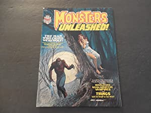 Monsters Unleashed! #1 1973 Bronze Age BW Marvel Magazine Robert Bloch