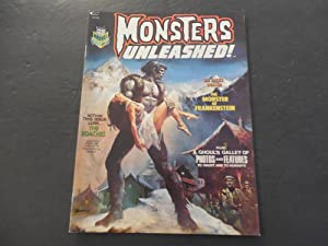 Monsters Unleashed! #2 Sep 1973 Bronze Age BW Marvel Magazine Photos