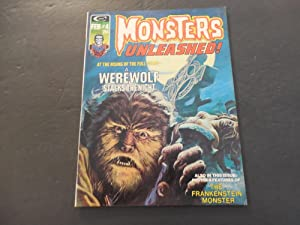 Monsters Unleashed! #4 Feb 1974 Bronze Age BW Marvel Mag Frankenstein