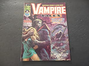 Vampire Tales #3 Feb 1974 Bronze Age BW Marvel Magazine Demon Cult