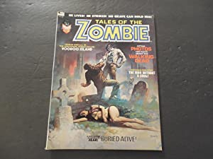 Tales Of The Zombie #2 Oct '73 Bronze Age BW Marvel Mag Brother Voodoo