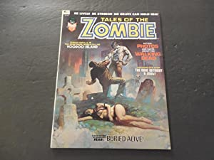 Tales Of The Zombie #2 Oct '73 Bronze Age BW Marvel Mag Bro Voodoo