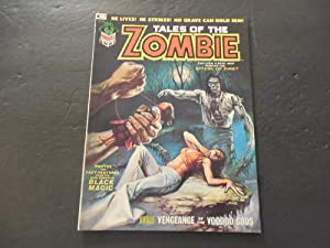 Tales Of The Zombie #3 Jan 1974 Bronze Age BW Marvel Mag Voodoo Gods