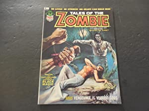 Tales Of The Zombie #3 Jan 1974 Bronze Age BW Marvel Magazine Voodoo