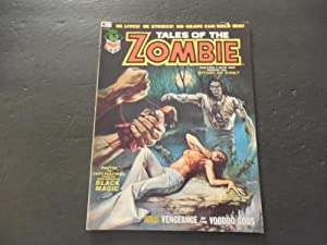 Tales Of The Zombie #3 Jan 1974 Bronze Age BW Marvel Magazine Magic