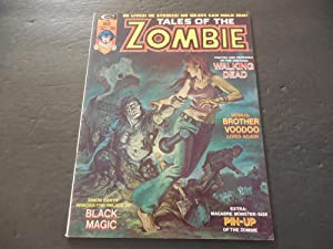 Tales Of The Zombie #5 May 1974 Bronze Age BW Marvel Magazine Magic