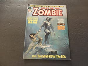 Tales Of The Zombie #1 1973 Bronze Age BW Marvel Mag Walking Dead