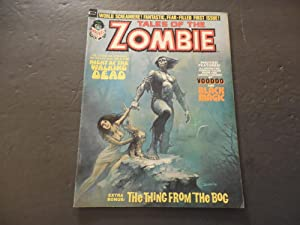 Tales Of The Zombie #1 1973 Bronze Age Black White Marvel Magazine