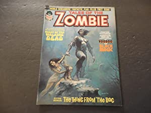 Tales Of The Zombie #1 1973 Bronze Age Black And White Marvel Mag