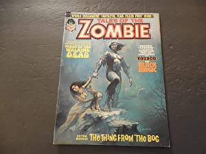 Tales Of The Zombie V2 #1 Mar 1974 Bronze Age BW Marvel Walking Dead