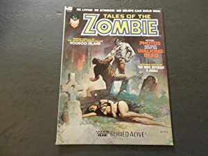 Tales Of The Zombie #2 Oct '73 Bronze Age BW Marvel Mag Buried Alive