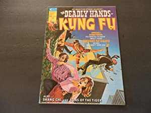Deadly Hands Of Kung Fu #8 Jan 1975 Bronze Age Marvel Comics BW Mag