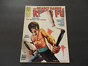 Deadly Hands Of Kung Fu #28 Sep 1976 Marvel Comics Bronze Age BW Mag