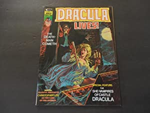 Dracula Lives! #7 Jul 1974 Bronze Age BW Marvel Mag Christopher Lee