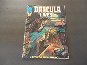Dracula Lives! #10 Jan 1975 Bronze Age Black White Marvel Magazine
