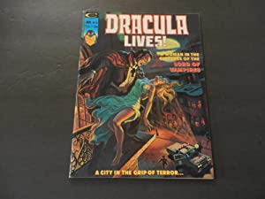 Dracula Lives! #10 Jan 1975 Bronze Age Black White Marvel Mag